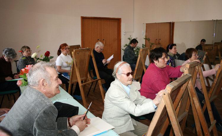 Народный самодеятельный коллектив изостудия «Вдохновение»